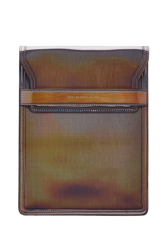 Holographic tablet case, $144, Marc by Marc Jacobs, stylebop.com
