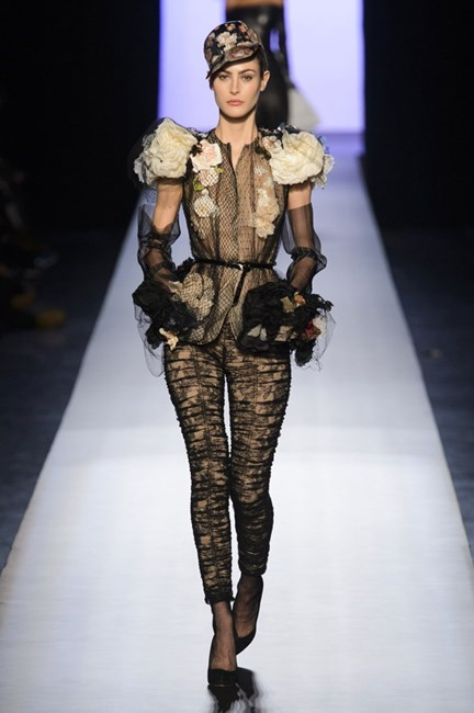 <strong>Delta Goodrem</strong><br> The good girl who just refuses to go bad loves trousers but generally plays it safe. Here some Jean Paul Gaultier personality should help her catch the judges eyes.
