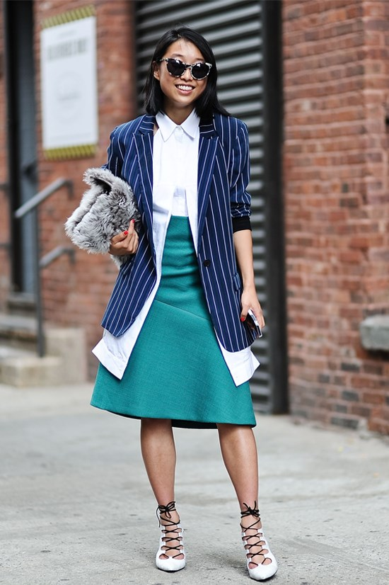 Blogger name: Margaret Zhang, Australia<br> Blog URL: shinebythree.com<br> In New York expect: this season Zhang is a guest buyer for Matches Fashion. Look out for daily updated and street style hits. <br> Facebook followers: 29,667<br> Instagram followers: 353,000<br> Twitter followers: 18,100<br>