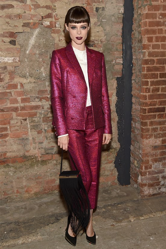 Blogger name: Coco Rocha, Canada<br> Blog URL: oh-so-coco.tumblr.com<br> Best known for: modelling <br> In New York expect: quirky style featuring a baby bump <br> Facebook followers:  453,280<br> Instagram followers: 878,000<br> Twitter followers: 862,000<br>