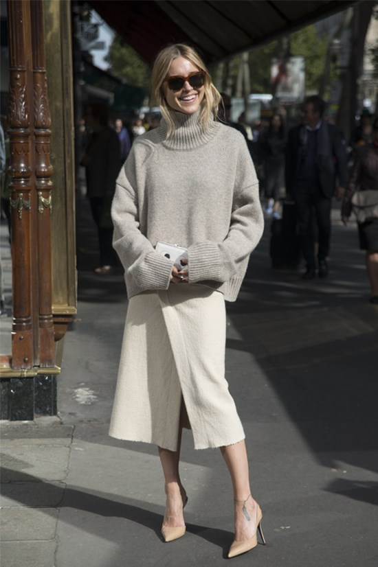 """Blogger name: Pernille Teisbaek, Denmark<br> Blog URL: lookdepernille.com<br> Best known for: her recent collaboration with Hanneli Mustaparta and Emma Elwin for Gina Tricot's Spring campaign """"Scandinavian It Girls""""<br> In New York expect: Danish smart casual <br> Facebook followers: 16,747<br> Instagram followers: 175,000 <br> Twitter followers: 1,092<br>"""
