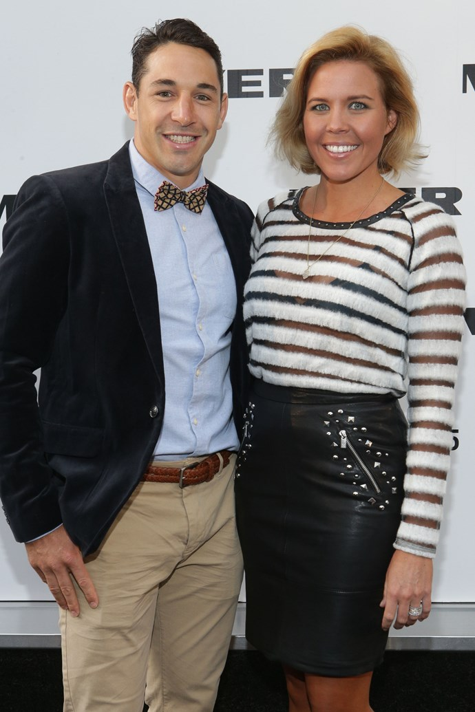 Billy and Nicole Slater