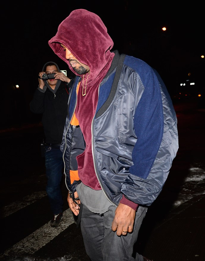 Kanye West wouldn't need to bother with an average hoodie if he had a Flashback hoodie