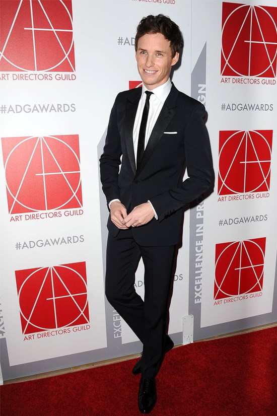 Eddie Redmayne at the 19th Annual Art Directors Guild Excellence in Production Design.