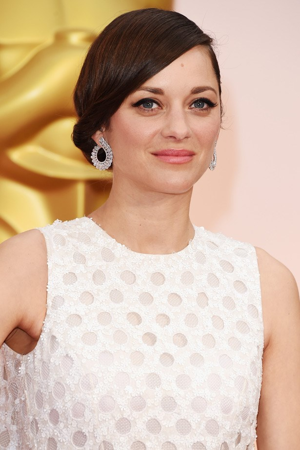 Marion Cotillard wore these stunning Chopard jewels with an equally stunning dress by Christian DIor Haute Couture.