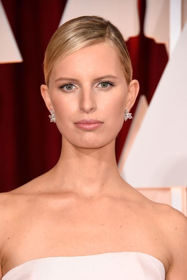 <p><strong>The Minimal Look</strong></p> Karolina Kurkova had barely there liner and lashes.