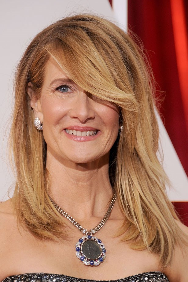 """""""I loved Laura Dern's balayage. Technically blended giving natural toning and dimension within the hair. So beautifully done!"""""""