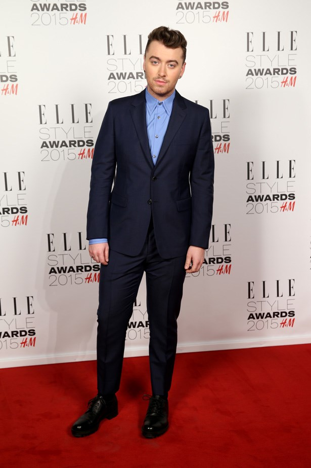 Sam Smith at the ELLE Style Awards
