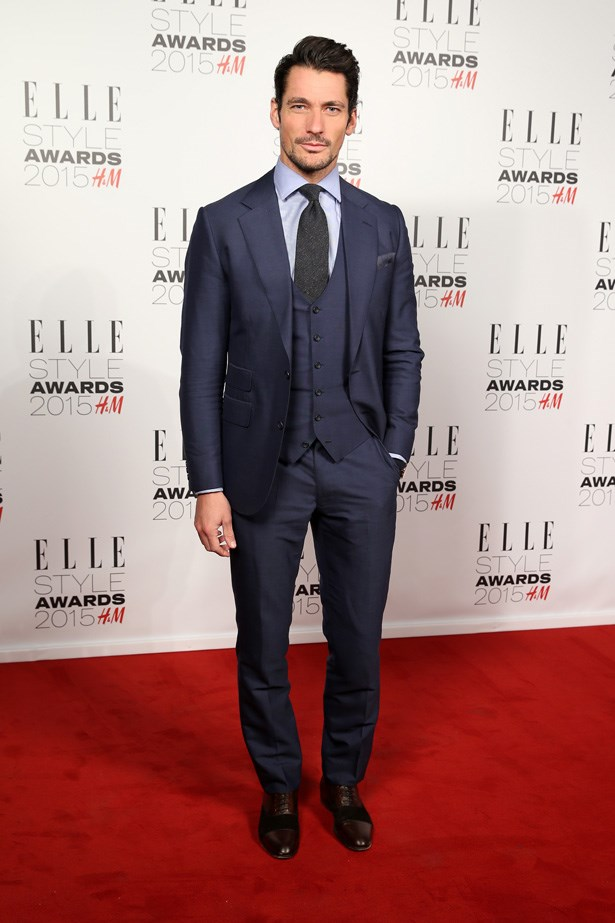 David Gandy at the ELLE Style Awards