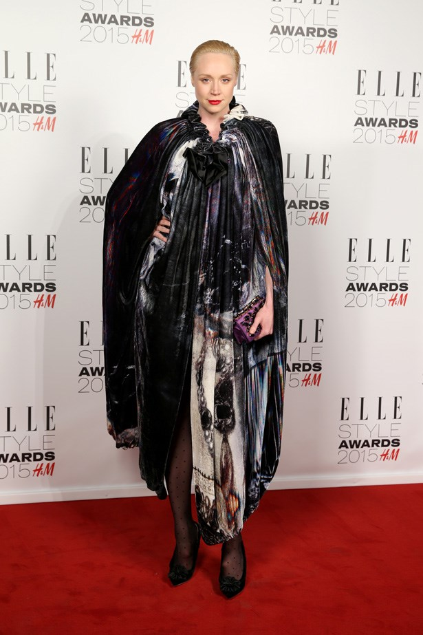 Gwendoline Christie at the ELLE Style Awards