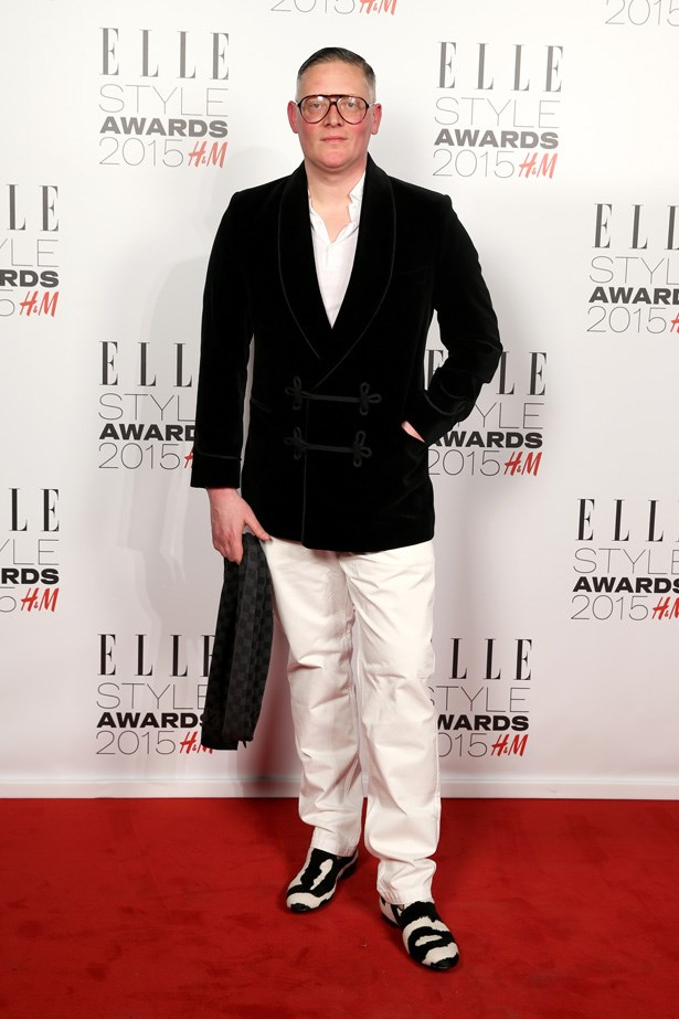 British Designer Giles Deacon at the ELLE Style Awards