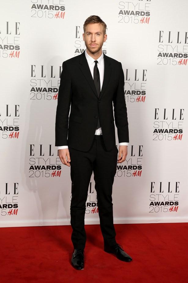Calvin Harris at the ELLE Style Awards