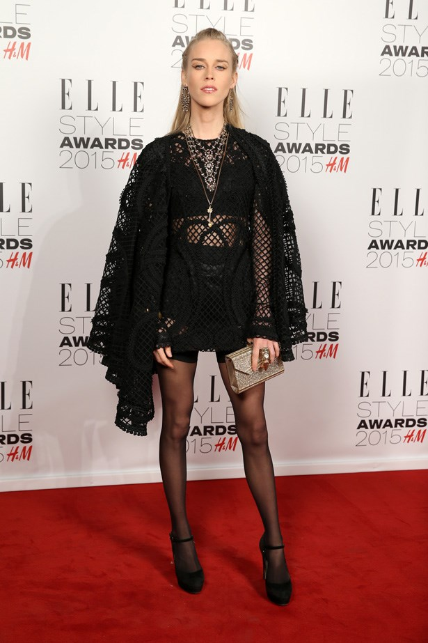 Mary Charteris at the ELLE Style Awards