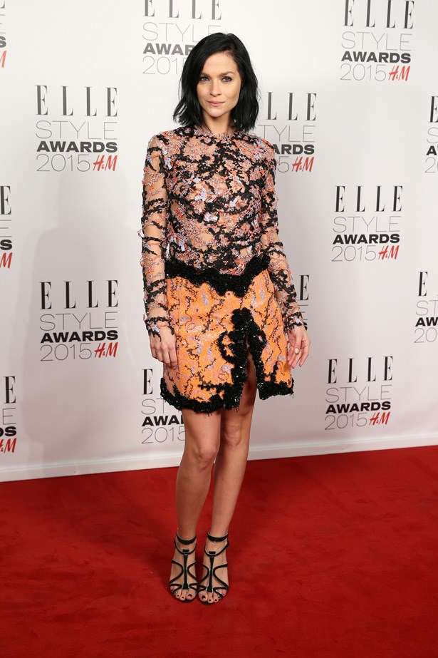 Leigh Lezark at the ELLE Style Awards