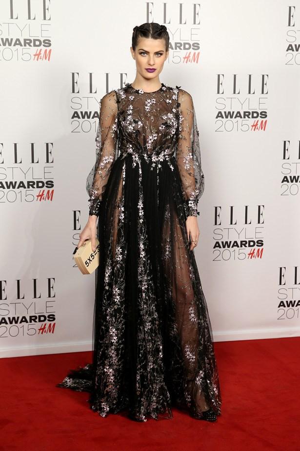 Isabeli Fontana at the ELLE Style Awards
