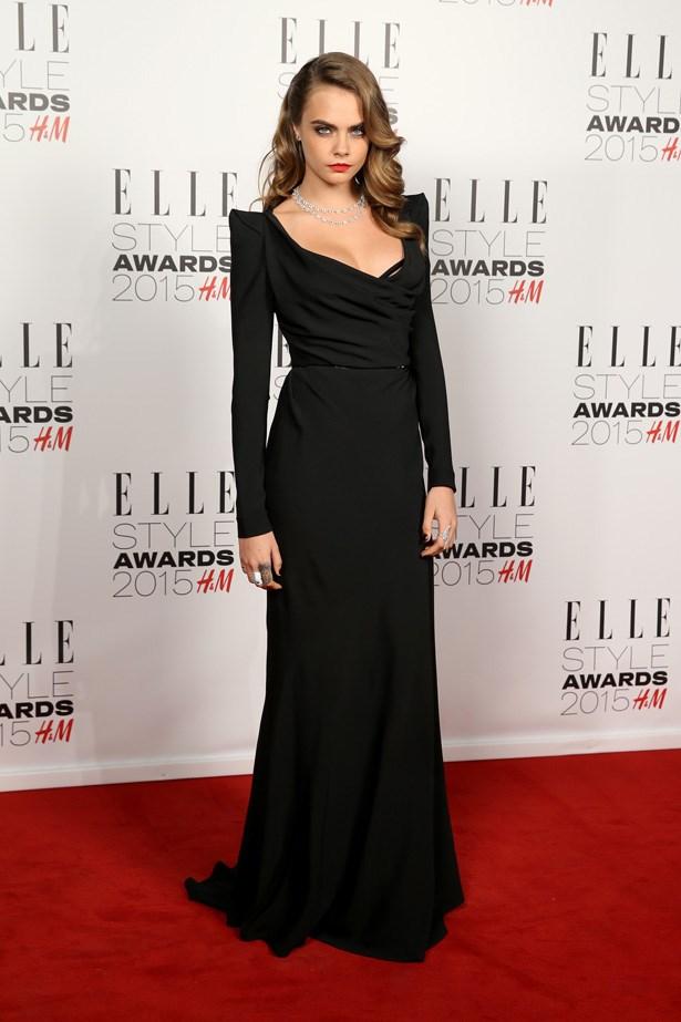 Cara Delevingne at the ELLE Style Awards