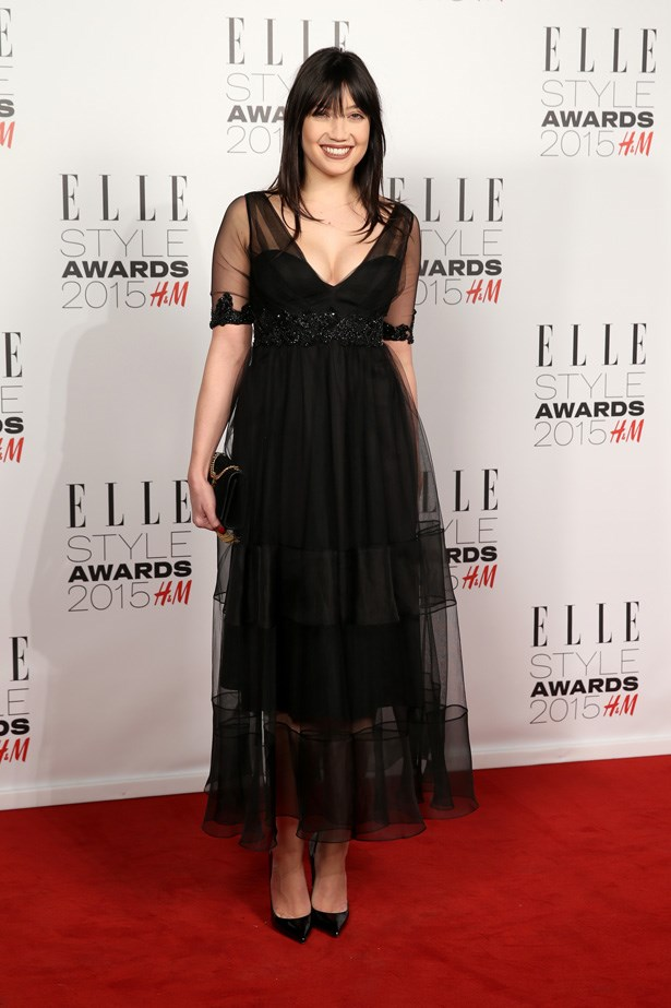 Daisey Lowe at the ELLE Style Awards