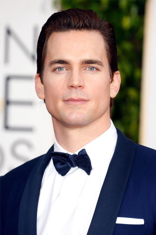 "<strong>Matt Bomer</strong> Can't you just picture him whispering to Anastasia, ""Now I'm going to cut you with my impressive cheekbones."""