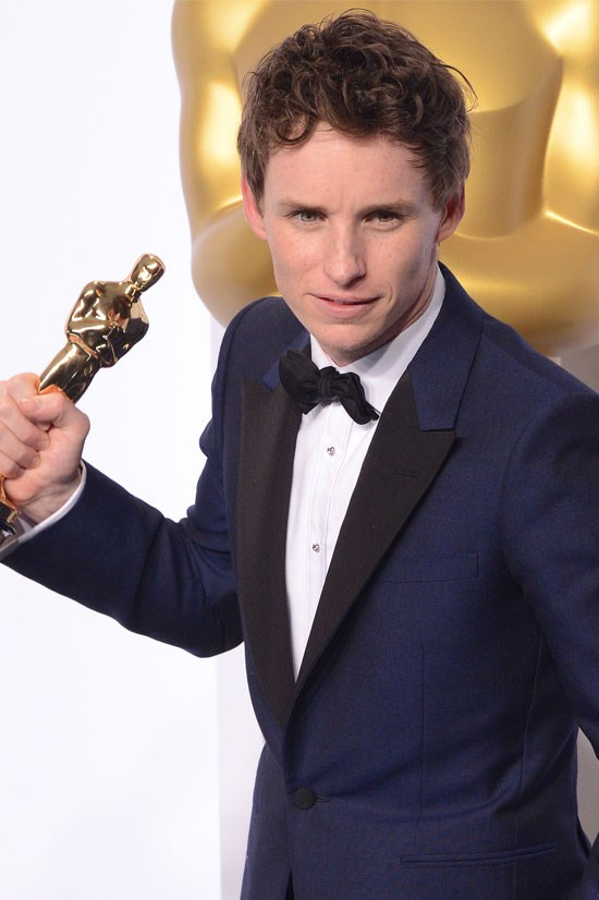 "<strong>Eddie Redmayne</strong> He has a <a href=""http://www.elle.com/culture/celebrities/news/g25626/eddie-redmayne-sexy-stare/"">gaze that just speaks to the soul</a>. And, well, at least we know <em>he </em>can act."