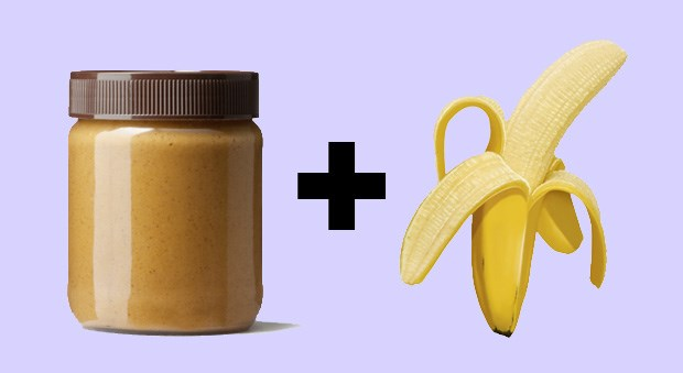 <strong>Almond Butter + Banana</strong><BR> Bananas and almonds pack a big vitamin B6 and magnesium punch, making it ideal for a good night's rest. Because it could be a sneaky high-cal snack, just keep that nut butter portion to a tablespoon so you're not feeling too stuffed before you hit the hay.