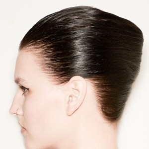 how to make hair look wet and shiny