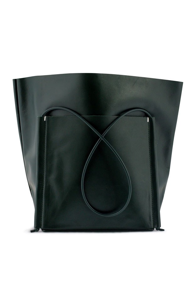 """<p>Los Angeles label Building Block created the perfect leather tote, complete with rubber shoulder straps and internal pockets. You can take it from work to your lunch time pilates class, and then to dinner without shoes spilling out the top. </p> <p><em>Pocket Tote in Green, $495, Building Block, <a href=""""https://www.modesportif.com/"""">modesportif.com</a></em></p>"""