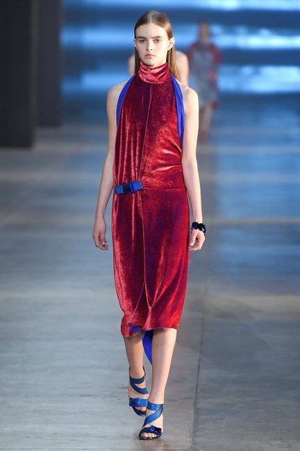 Christopher Kane's sexy column dress.
