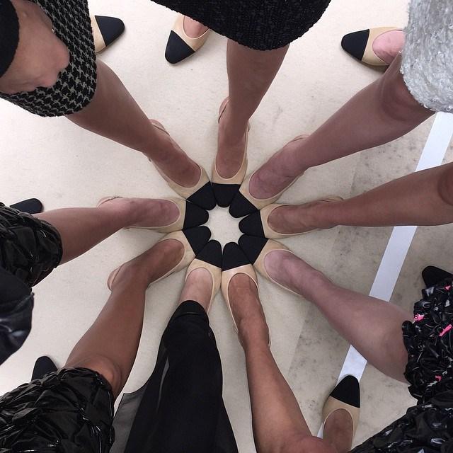 <em>I shoes you @chanelofficial</em> @caradelevingne