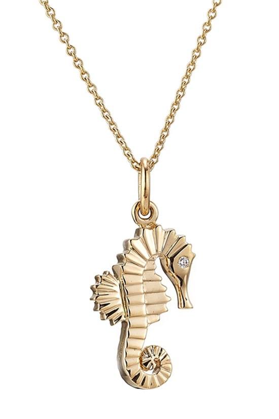 "Chevalde de la Mer necklace, $1,824, Sophie Bille Brahe, <a href=""http://www.stylebop.com/au/product_details.php?id=593761"">www.stylebop.com</a>"