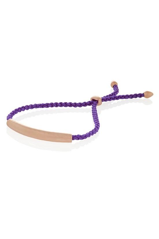 "Esencia rose gold-tone cord bracelet, $93, Monica Vinader, <a href=""http://www.theoutnet.com/en-AU/product/Monica-Vinader/Esencia-rose-gold-tone-cord-bracelet/530253"">www.theoutnet.com</a>"