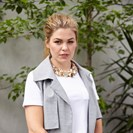 Belle Gibson at her home in Melbourne