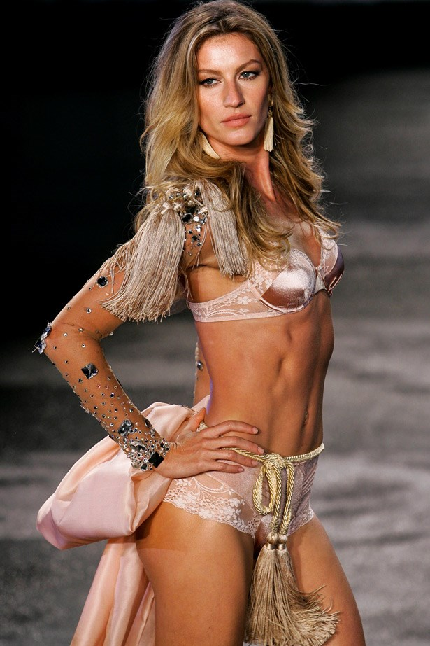 Here's a look back at the supermodel's biggest catwalk moments throughout her nearly-20-year career.