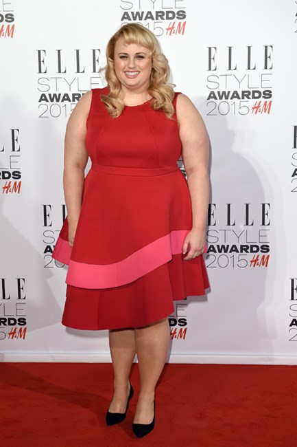Rebel Wilson at the ELLE UK Style Awards