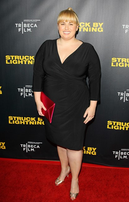 Rebel Wilson at Struck By Lightning LA premiere