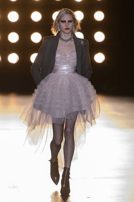10. What's old is new again.<br><br> Madonna as muse at Saint Laurent. Tutu brilliant.
