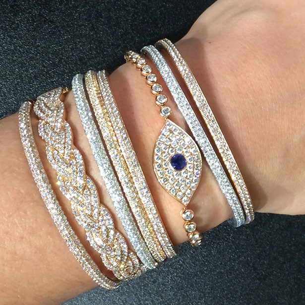 More is more! The ultimate #armcandy @anitakojewelry