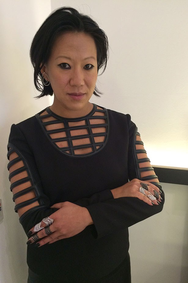 @lynn_ban rocking her incredible pieces.