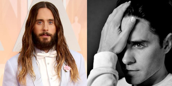 Honestly, we never thought this day would come—but it had to eventually, right? The only man to ever get his own hair how-to on ELLE.com and a member of the original man bun crew chopped off his covetable locks. <strong>Jared Leto</strong> had to ditch his ombré tresses for his role as The Joker in Suicide Squad, and although we're shedding a small tear inside, we do admit that the clean-cut version of the former Jordan Catalano is not so bad to look at either.