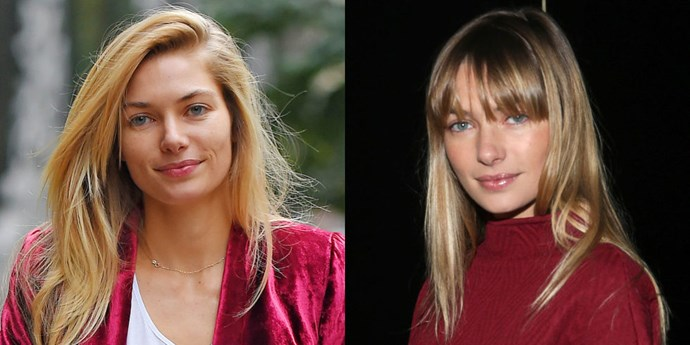 First it was Behati, now <strong>Jessica Hart</strong>. It seems Brigitte Bardot bangs are having a major moment. Will the long, face-framing style be the next lob?