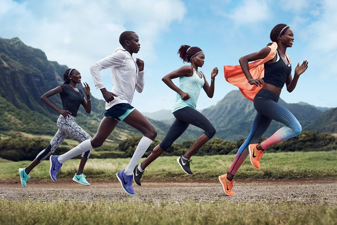 """Be a Force of Nature. <br/><br/> Click <a href=""""http://ad.doubleclick.net/ddm/clk/289631351;116656040;c"""">here</a> to learn more about Nike Free. <br/><br/> This gallery is brought to you by Nike Free."""