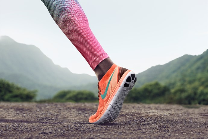"""Nike Free 3.0 Flyknit. <br/><br/> Click <a href=""""http://ad.doubleclick.net/ddm/clk/289631351;116656040;c"""">here</a> to learn more about Nike Free. <br/><br/> This gallery is brought to you by Nike Free."""