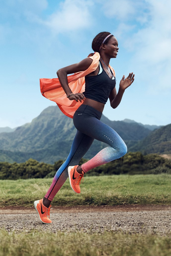 """Nike Free 5.0. <br/><br/> Click <a href=""""http://ad.doubleclick.net/ddm/clk/289631351;116656040;c"""">here</a> to learn more about Nike Free. <br/><br/> This gallery is brought to you by Nike Free."""