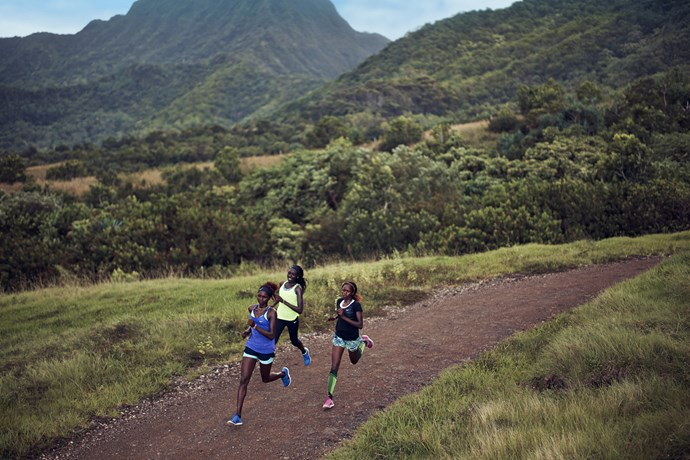 """Take on any challenge. <br/><br/> Click <a href=""""http://ad.doubleclick.net/ddm/clk/289631351;116656040;c"""">here</a> to learn more about Nike Free. <br/><br/> This gallery is brought to you by Nike Free."""