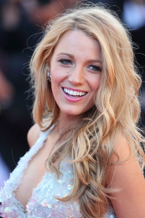 Let a little frizz make things more casual, like Blake Lively