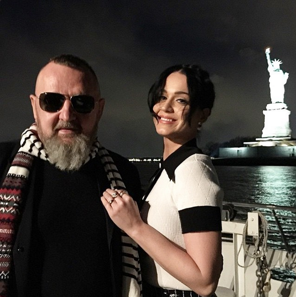 Michel Gaubert and Katy Perry <br><br> Source: @limasocialdiary