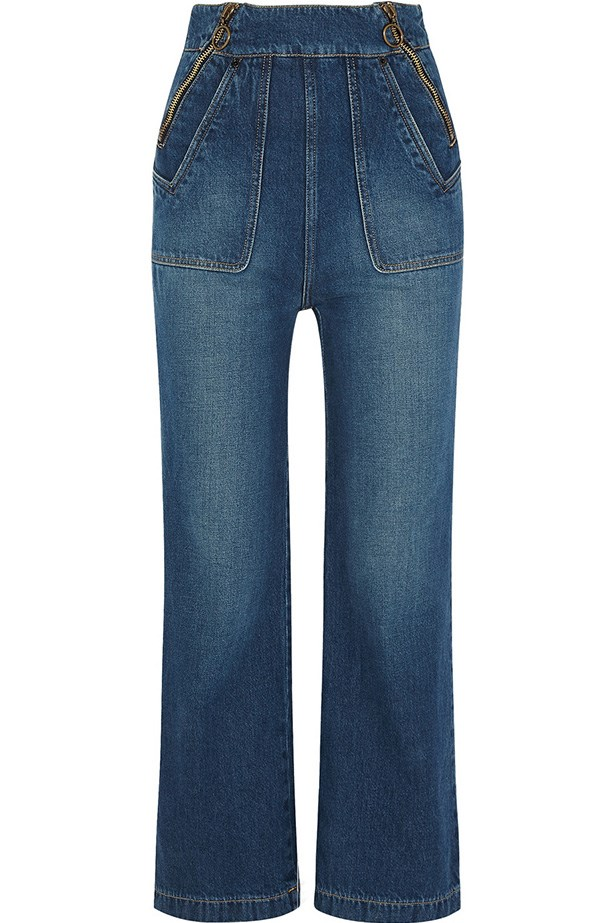 "Jeans, $570, Chloe, <a href=""http://rstyle.me/n/y5imsv5qw"">net-a-porter.com</a>"
