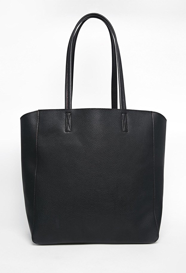 "Bag, $40, ASOS, <a href=""http://www.asos.com/ASOS/ASOS-Winged-Shopper-Bag/Prod/pgeproduct.aspx?iid=4928484&cid=6992&sh=0&pge=0&pgesize=36&sort=-1&clr=Black&totalstyles=386&gridsize=3"">asos.com</a>"
