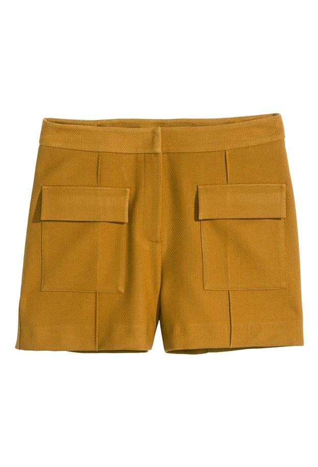 """Shorts, $49.95, H&M, <a href=""""http://www.hm.com/au/product/82442?article=82442-A"""">hm.com/au</a>"""