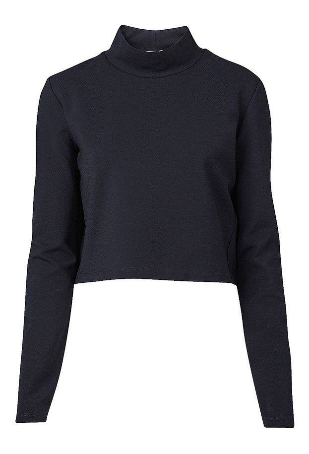 "Top, $69.95, Witchery, <a href=""http://www.witchery.com.au/shop/new-in/woman/clothing/60180526/Cropped-High-Neck-Top.html"">witchery.com.au</a>"