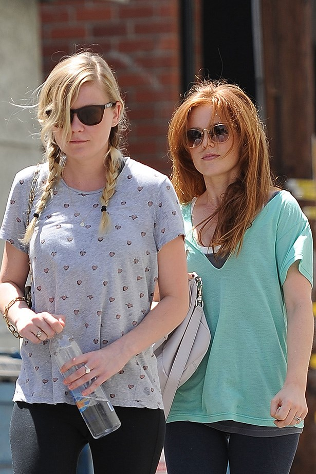 Now here's a random pairing! Well, not really. If the somewhat similar <em>Bridesmaids</em> didn't pull focus too much, you'd recall the 2012 flick <em>Bachelorette </em> in which Isla Fisher and Kirsten Dunst starred. Since then, the two have kept it real on a regular basis by sharing workouts.